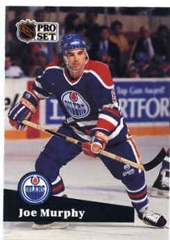 1991/92 NHL  Pro Set Hockey Card Joe Murphy #68 Near Mint