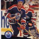 1991/92 NHL  Pro Set Hockey Card Mark Messier #74 Near Mint