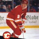 1991/92 NHL  Pro Set Hockey  Card Al MacInnis  #33 Near Mint