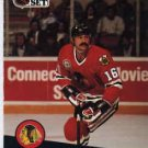 1991/92 NHL  Pro Set Hockey Card Michel Goulet #50 Near Mint