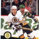 1991/92 NHL  Pro Set Hockey Card Garry Galley #7 Near Mint