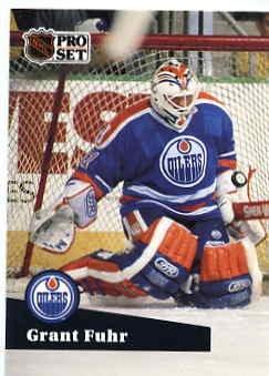 1991/92 NHL  Pro Set Hockey Card Grant Fuhr #78 Near Mint