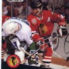 1991/92 NHL  Pro Set Hockey Card Chris Chelios #48Near Mint