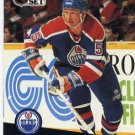 1991/92 NHL  Pro Set Hockey Card Steve Smith #73 N/Mint