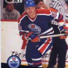 1991/92 NHL  Pro Set Hockey Card Esa Tikkanen #71