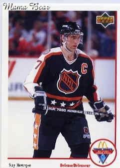 1991/92 NHL  McDonald's Hockey Card Ray Bourque  #Mc-10  N/Mint
