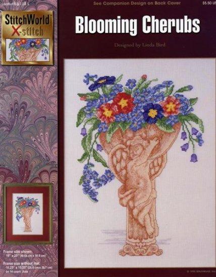 StitchWorld X-Stitch Blooming Cherubs Cross Stitch Pattern Leaflet New