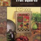 StitchWorld X-Stitch Fruit Squares Cross Stitch Pattern Leaflet New