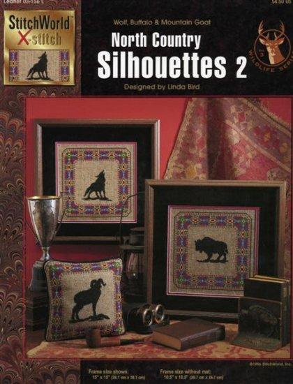 StitchWorld X-Stitch North Country Silhouettes 2 Cross Stitch Pattern Leaflet New