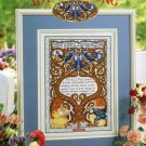 StitchWorld X-Stitch IDYL OF SPRING Cross Stitch Pattern Leaflet New