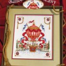 StitchWorld X-Stitch Balloon Over Tuscany Cross Stitch Pattern Leaflet New
