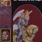 StitchWorld X-Stitch Sir Galahad & his Angel Cross Stitch Pattern Leaflet New