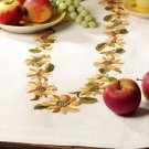 Sunflower Wreath Table Runner by Village Linens Embroidery Kit
