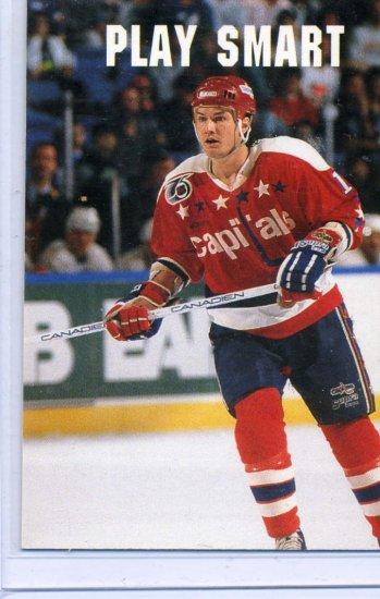 Alan May Play Smart 91/92 Pro Set #614 NHL Hockey Card