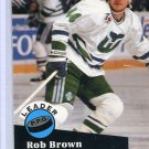 Rob Brown Leader 91/92 Pro Set #606 NHL Hockey Card