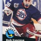 Bob Essensa Leader 91/92 Pro Set #602 NHL Hockey Card