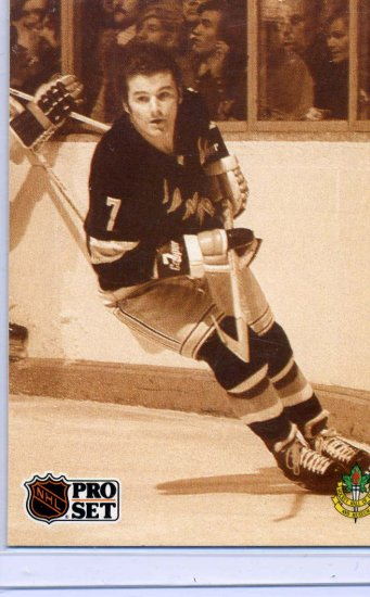Rod Gilbert 91/92 Pro Set Hall of Fame #593 NHL Hockey Card