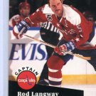Rod Langway 91/92 Pro Set #587 NHL Hockey Card Near Mint/Mint Condition