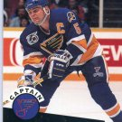 Garth Butcher 1991/92 Pro Set #583 NHL Sports Trading Card Near Mint/Mint Condition