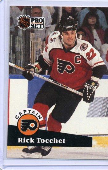 Rick Tocchet 91/92 Pro Set #580 NHL Hockey Card Near Mint/Mint Condition