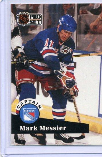 Mark Messier 91/92 Pro Set #579 NHL Hockey Card Near Mint/Mint Condition