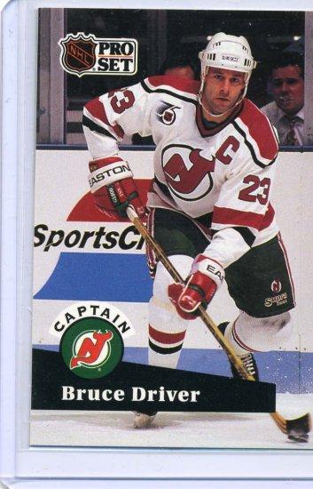 Bruce Driver 91/92 Pro Set #577 NHL Hockey Card Near Mint/Mint Condition