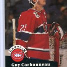 Guy Carbonneau 91/92 Pro Set #576 NHL Hockey Card Near Mint/Mint Condition