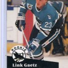 Link Gaetz 1991/92 Pro Set #561 NHL Hockey Card Near Mint/Mint