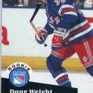 Rookie Doug Weight 1991/92 Pro Set #549 NHL Hockey Card Near Mint Condition