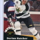 Rookie Derian Hatcher 1991/92 Pro Set #543 NHL Hockey Card Near Mint Condition