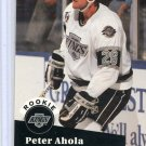 Rookie Peter Ahola 1991/92 Pro Set #540 NHL Hockey Card Near Mint Condition