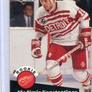 Rookie Vladimir Konstantinov 1991/92 Pro Set #533 NHL Hockey Card Near Mint Condition