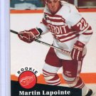 Rookie Martin Lapointe 1991/92 Pro Set #532 NHL Hockey Card Near Mint Condition