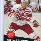 Rookie Nicklas Lidstrom 1991/92 Pro Set #531 NHL Hockey Card Near Mint Condition