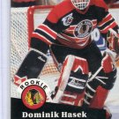 Rookie Dominik Hasek 1991/92 Pro Set #529 NHL Hockey Card Near Mint Condition