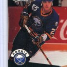 Rookie Brad May 1991/92 Pro Set #523 NHL Hockey Card Near Mint Condition
