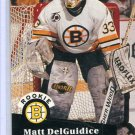Rookie Matt DelGuidice 1991/92 Pro Set #521 NHL Hockey Card Near Mint Condition