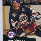 Troy Murray 91/92 Pro Set #514 NHL Hockey Card Near Mint Condition