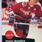 Peter Bondra 91/92 Pro Set #511 NHL Hockey Card Near Mint Condition