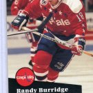 Randy Burridge 91/92 Pro Set #510 NHL Hockey Card Near Mint Condition