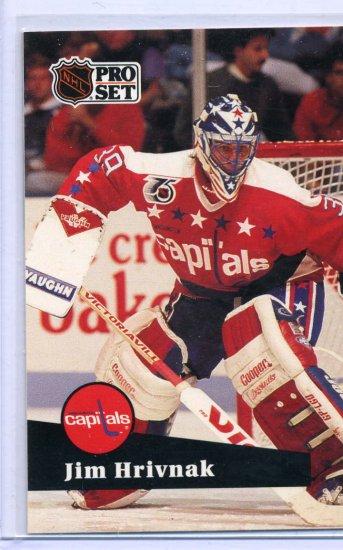 Jim Hrivnak 91/92 Pro Set #509 NHL Hockey Card Near Mint Condition