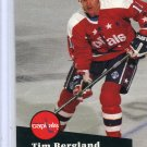 Tim Bergland 91/92 Pro Set #507 NHL Hockey Card Near Mint Condition