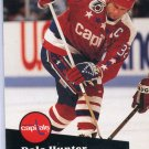 Dale Hunter 91/92 Pro Set #506 NHL Hockey Card Near Mint Condition