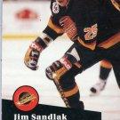 Jim Sandlak 91/92 Pro Set #497 NHL Hockey Card Near Mint Condition