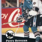 Perry Berezan 1991/92 Pro Set #487 Hockey Card Near Mint Condition