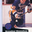 Brendan Shanahan 1991/92 Pro Set #475 Hockey Card Near Mint Condition