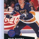 Rick Zombo 91/92 Pro Set #474 NHL Hockey Card Near Mint Condition