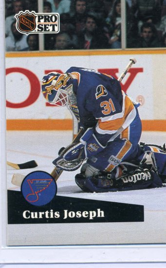 Curtis Joseph 1991/92 Pro Set #473 Hockey Card Near Mint Condition