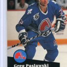 Greg Paslawski 1991/92 Pro Set #469 Hockey Card Near Mint Condition