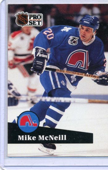 Mike McNeill 1991/92 Pro Set #467 Hockey Card Near Mint Condition